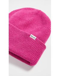 Madewell Cuffed Beanie - Pink