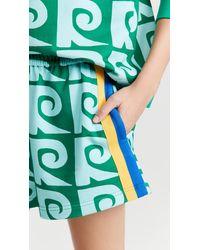 RHODE Steffi Track Shorts - Green