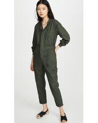 Sundry Boilersuit - Green