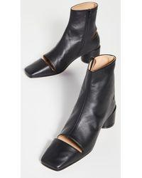 MM6 by Maison Martin Margiela Glove Booties - Black