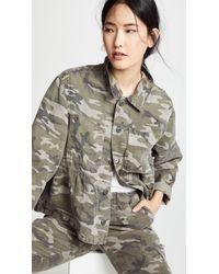 AMO - Cropped Rosie Jacket - Lyst