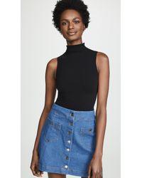 db67fa12f11 Fashion Forms - U Plunge Backless Strapless Bodysuit - Lyst · Commando -  Mockneck Sleeveless Bodysuit - Lyst