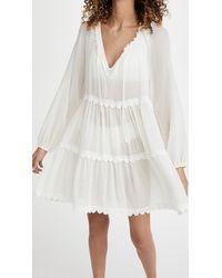 Eberjey Summer Of Love Sofia Dress - White