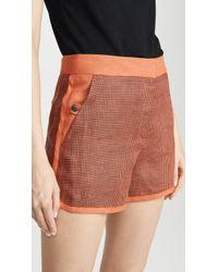 Rag & Bone Lia Shorts - Multicolour