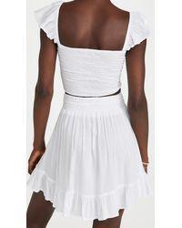 Tiare Hawaii Hollie Top & Lily Skirt Set - White