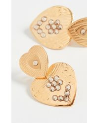 Gas Bijoux Mini Love Earrings - Metallic