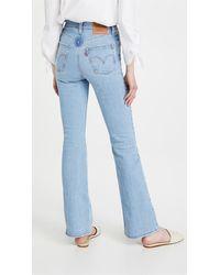 Levi's Ribcage Bootcut Jeans - Blue