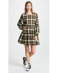 Riller & Fount - Kitty Plaid Shirtdress - Lyst
