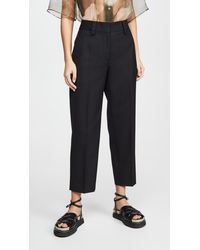 Acne Studios Trea Trousers - Black