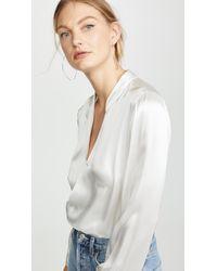 L'Agence - Marcella Bodysuit - Lyst