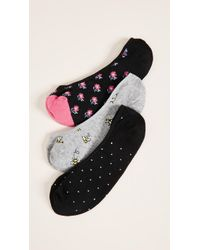Kate Spade - A Buzz Liner Sock 3 Pack - Lyst