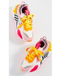 PUMA Rs-x Unexpected Mixes Trainers - Pink