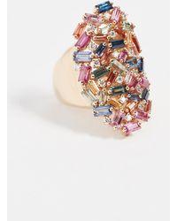 Suzanne Kalan - 18k Gold Fireworks Rainbow Ring - Lyst