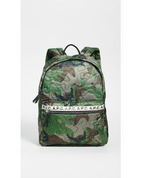 A.P.C. Dos Marc Backpack - Green