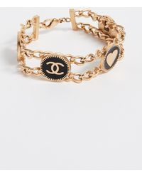 What Goes Around Comes Around - Chanel Star Bracelet - Lyst