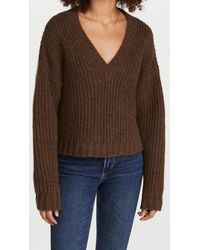 Anine Bing Marlowe Sweater - Brown