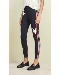 Pam & Gela Star Legging - Black