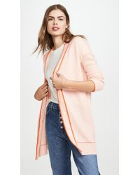 Marni V Neck Cashmere Cardigan - Pink