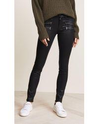 PAIGE High Rise Edgemont Jeans - Black