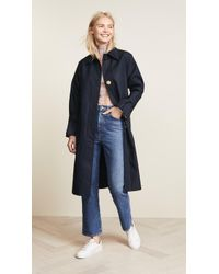 Edition10 - Trench Coat With Oversize Buttons - Lyst