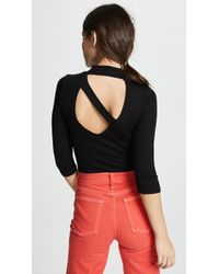 LNA - Something About You Ribbed Top - Lyst
