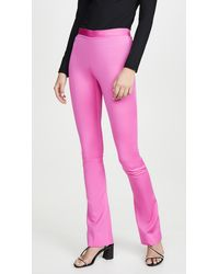 Versace Pantaloni Tessuto Pants - Pink