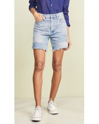 Citizens of Humanity Bailey Shorts - Blue