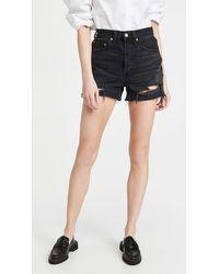 RE/DONE 50s Cutoff Shorts - Black