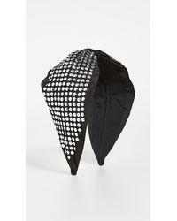 NAMJOSH Studded Headband - Black