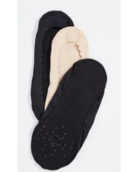 Kate Spade - Scallop Second Skin Socks 3 Pack - Lyst