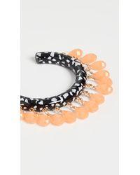 Lele Sadoughi Slim Rattle Bracelet - Multicolour