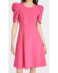 Black Halo Russo Dress - Pink