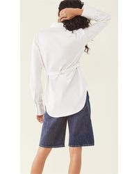 Dion Lee Belted Utility Shirt - White