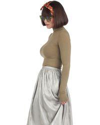 BURU White Label Smocked Skirt - Multicolor