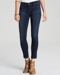 Free People Roller Cropped Jeans - Blue
