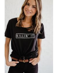 SHOP MĒKO Killin' It Tee - Black