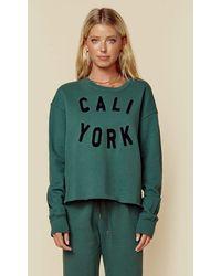 Sundry Cali York Sweatshirt - Green
