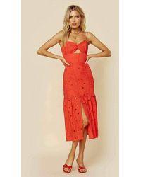 Karina Grimaldi Dream Dress | Sale - Red