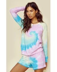 Chaser Cozy Knit Long Sleeve Pullover - Multicolor