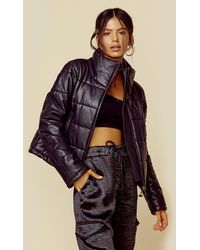 LTH JKT Cay Cropped Puffer Jacket - Black