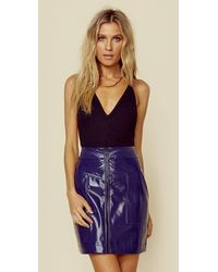 Rebecca Minkoff Marguerite Skirt | Sale - Blue