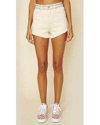 Lee Jeans Cut Off Short | Sale - White