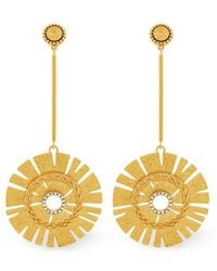 Rachel Zoe - Natasha Starburst Earrings - Lyst
