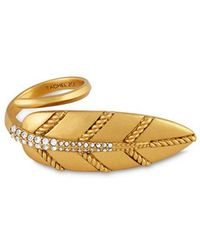 Rachel Zoe - Lydia Leaf Statement Ring - Lyst