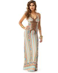 Sky - Philana Maxi Dress - Lyst