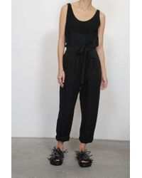 Rachel Comey - Olas Jumpsuit In Black - Lyst