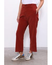 Xirena Paley Pant In Amber - Red