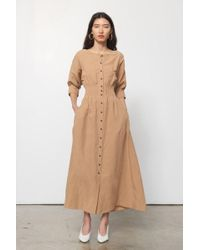 Mara Hoffman - Amia Dress In Khaki - Lyst