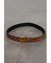 Rachel Comey - Thin Estate Belt In Leopard - Lyst