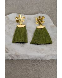 Lizzie Fortunato | Daisy Crater Earrings | Lyst